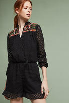 Harlyn Evensong Embroidered Romper
