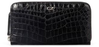 Giuseppe Zanotti Paula crocodile-effect wallet