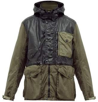 C.P. Company Goggle Hooded Parka - Mens - Black Green