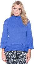 ELOQUII Plus Size Hi-Lo Turtleneck Sweater
