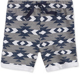 First Impressions Geo-Print Shorts, Baby Boys (0-24 months), Created for Macy's