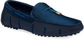 Swims Men's Lux Tassel Water Loafers, Navy