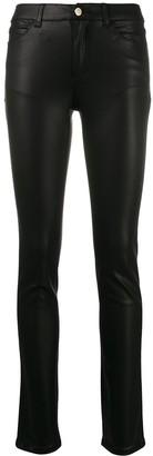 Emporio Armani Mid Rise Skinny Jeans