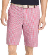 Izod Mini-Plaid Poplin Shorts