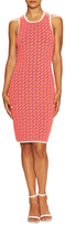 Jonathan Simkhai Techno Tribal Embroidered Sheath Dress