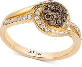 LeVian Le Vian Chocolatier® Diamond (1/2 ct. t.w.) Ring in 14k Gold