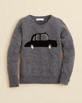 Burberry Girls' Mini Evl Car Sweater - Sizes 7-14
