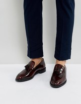 Moss Bros Tassled Leather Loafer