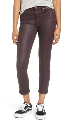 Vigoss Stevie Coated Crop Straight Leg Jeans