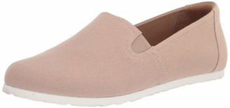 Amazon Essentials Casual Slip on Canvas Flat With Sport Bottom Sneaker