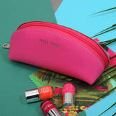Undercover Leather Nail Junk Cosmetic Bag
