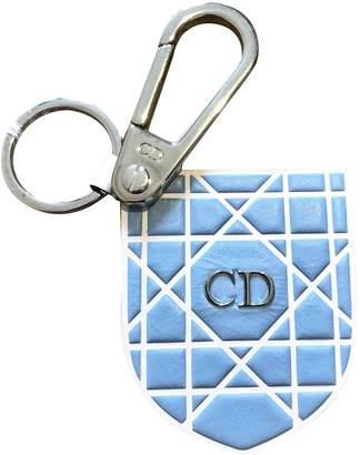 Christian Dior Blue Leather Bag charms