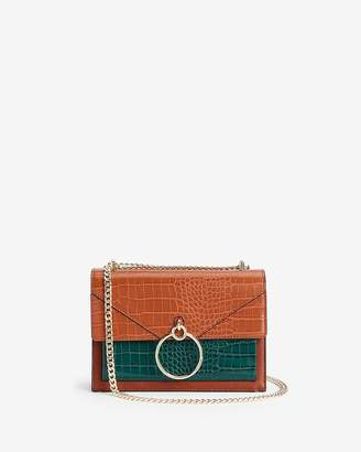 Express Chain Handle O-Ring Flap Bag