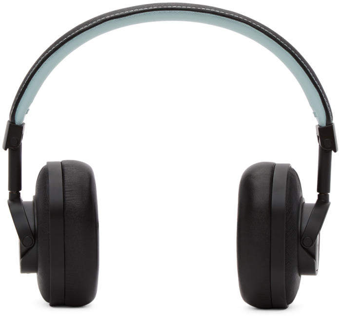 Master and Dynamic Black and Blue Bamford Watch Department Edition Wireless MW60 Headphones