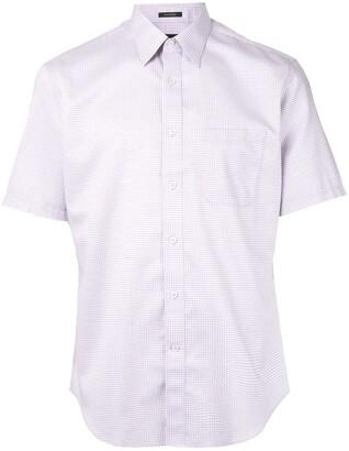 Durban Micro-Check Print Shirt