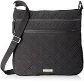 Vera Bradley Triple-Zip Hipster Cross-Body Bag