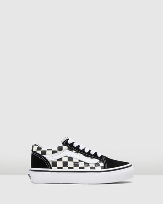 Vans Old Skool Lace Check Youth