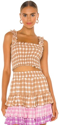 Cool Change coolchange Remi Gingham Top