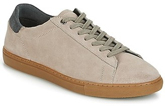 Frank Wright TIGERS men's Shoes (Trainers) in Beige