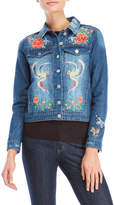 philosophy Birds of Paradise Denim Jacket