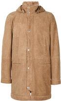Brunello Cucinelli shearling coat - men - Cotton/Sheep Skin/Shearling - M