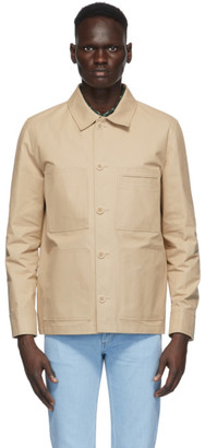 A.P.C. Beige Andre Jacket