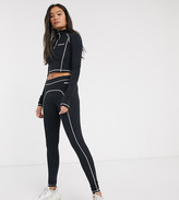 Ellesse leggings with contrast stitching two-piece