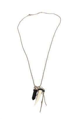 Chan Luu Onyx Crystal Dagger Necklace