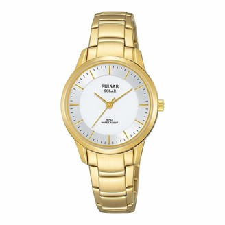 Pulsar Womens Analogue Analog Quartz Watch with Stainless Steel Strap PY5042X1