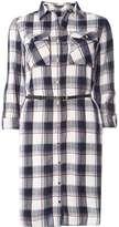 Dorothy Perkins **Tall Check Belted Shirt Dress