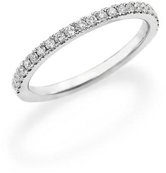 De Beers Classic Diamond & Platinum Eternity Half Band Ring
