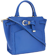 Marc Fisher As Is Diana Smooth Leather Belted Shopper