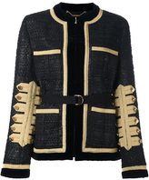 Givenchy lacquered tweed jacket