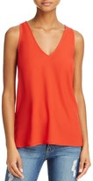 French Connection Sania Plains V-Neck Top