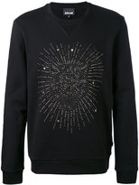 Just Cavalli studded tiger face sweatshirt - men - Cotton - M
