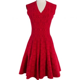 Alaia Red Dress for Women