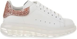 Alexander McQueen Oversize Glitter Detail Sneakers