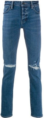 Neuw Ripped Slim-Fit Jeans
