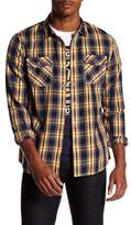 True Religion Utility Plaid Regular Fit Shirt