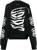 Diesel long sleeve printed hoodie