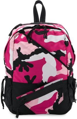 Valentino Garavani camouflage print backpack