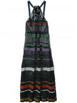 Sonia Rykiel patterned halterneck dress
