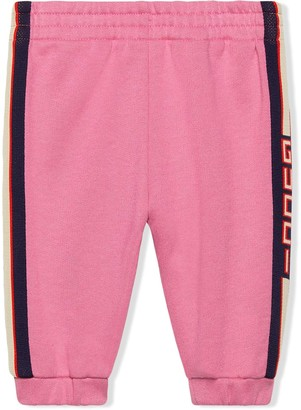 Gucci Kids Baby jogging pant with Gucci stripe