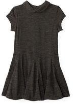 Ralph Lauren Wool Godet Dress