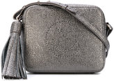 Anya Hindmarch glittery effect crossbody bag - women - Leather - One Size