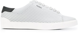 HUGO BOSS Perforated Lace-Up Sneakers