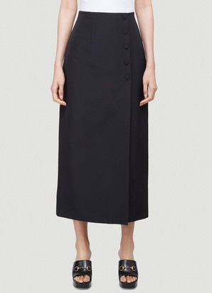 Gucci Classic Buttoned Skirt