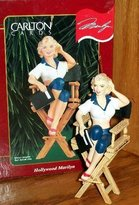 Carlton Marilyn Monroe - Hollywood Marilyn 1999 Cards Christmas Ornament