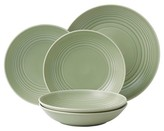Gordon Ramsay Stoneware 5-Pc. Pasta Bowl Set Sage