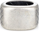 Bottega Veneta Men's Silver Signet Ring